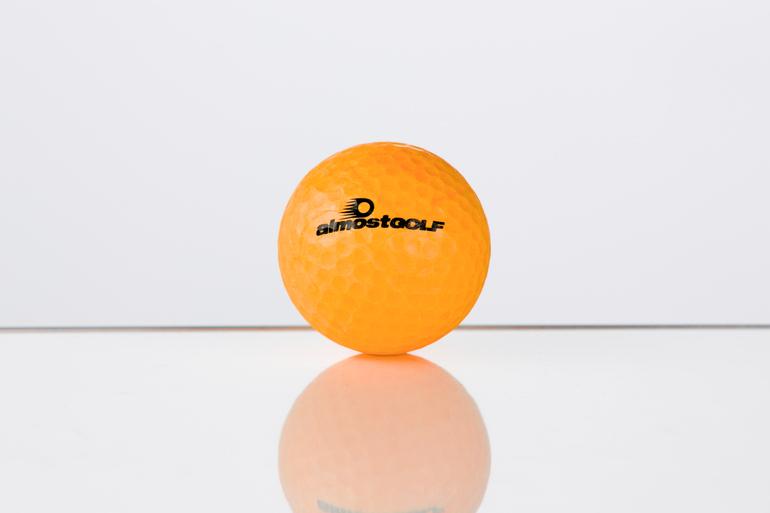 almostGOLF-Golfball (orange)