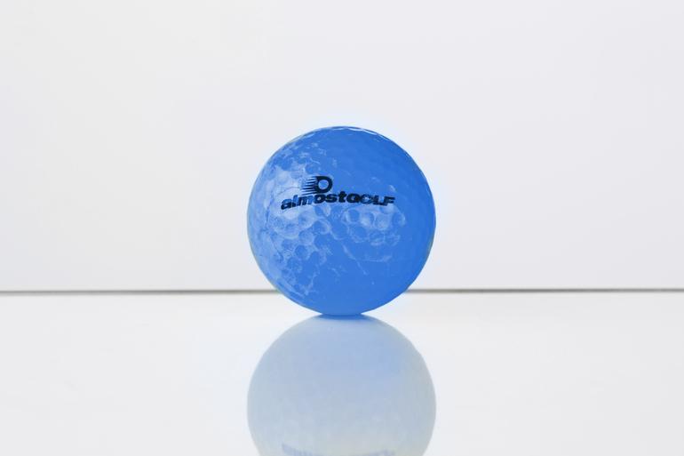 almostGOLF-Golfball (blau)