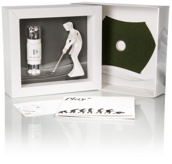 PIT GREEN Mikro-Golfer